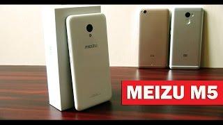 MEIZU M5 - обзор и попутное сравнение с бюджетниками от Xiaomi