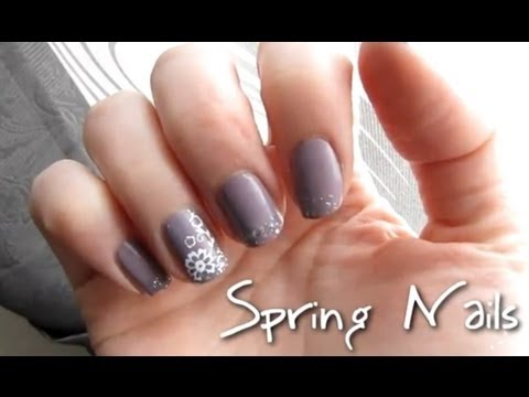 spring nailart nageldesign f r den fr hling youtube. Black Bedroom Furniture Sets. Home Design Ideas