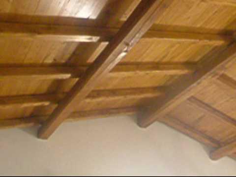Travi legno da soffitto
