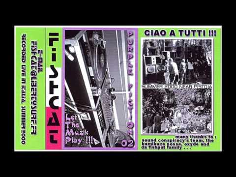 Fishcat - Mix  Purple Fiction 02 - Let The Music Play !!! Face A Pistoia 2000 Italy Old School