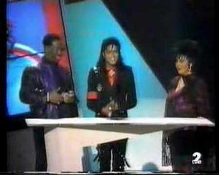 Michael Jackson Heritage Award 1989