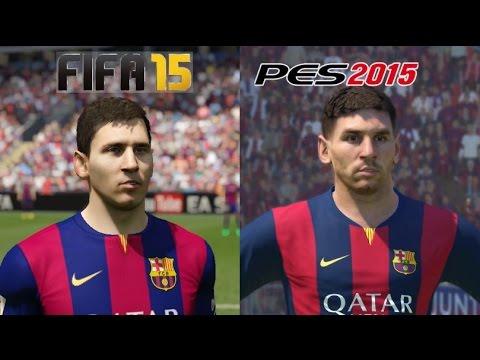 FIFA 15 VS PES 2015 - PS4 GAMEPLAY - 1080P