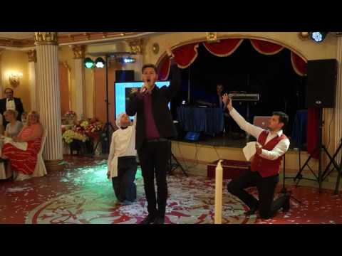 """Шоу """"Поющие официанты"""" Свадьба в """"Наполеоне"""" 17 августа 2016"""