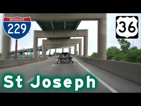 Highway Tour of St Joseph, MO