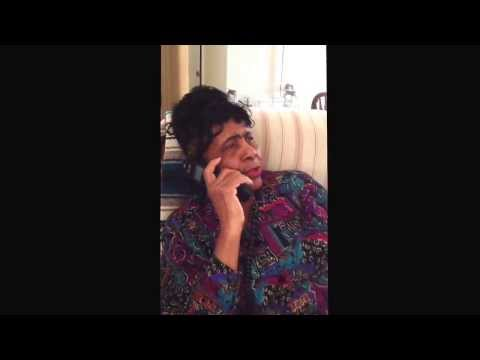 #TeeBelle 's phone conversation with Cousin Melba, in #Creole #French. #LouisianaFrench