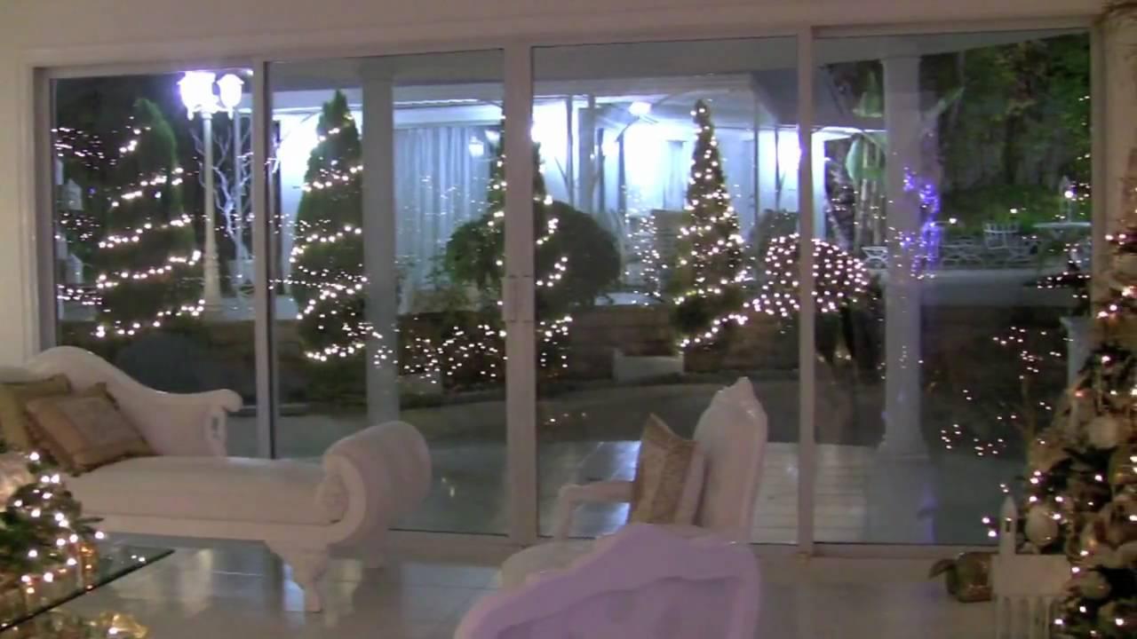 Christmas Winter Wonderland House Decorations Youtube