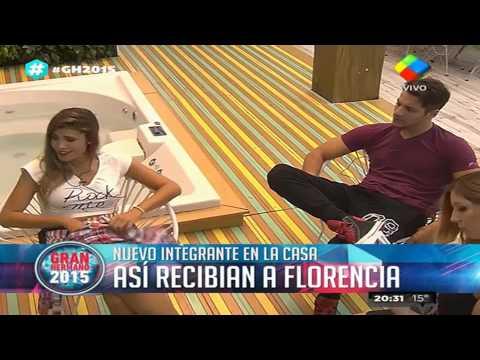 Gran Hermano 2015: Las primeras horas de Flor Zaccanti dentro de la Casa