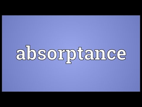 Header of absorptance