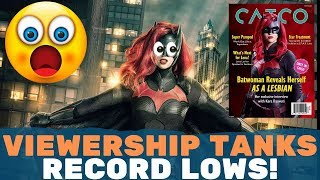 "Batwoman Ratings PLUMMENT! ""Coming Out"" Episode Worst Viewed In History!"