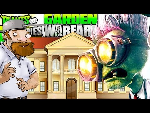 The Chemist Enters Crazy Daves House! - Plants vs. Zombies Garden Warfare! Gardens & Graveyards