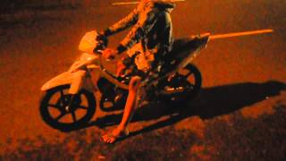 Suzuki Satria R 170cc Test Drag