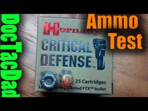 Hog's Head Ballistics - Hornady Critical Defense 115gr 9mm