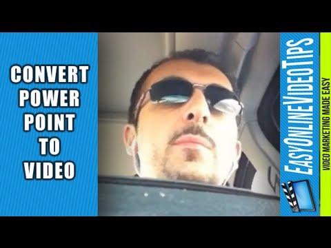 PowerPoint To Video: How to Convert and Market with PPT | Easy Online Video Marketing Tips