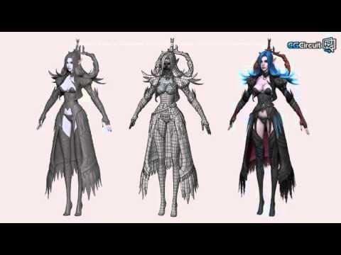 Создание 3D персонажей для игр. - YouTube