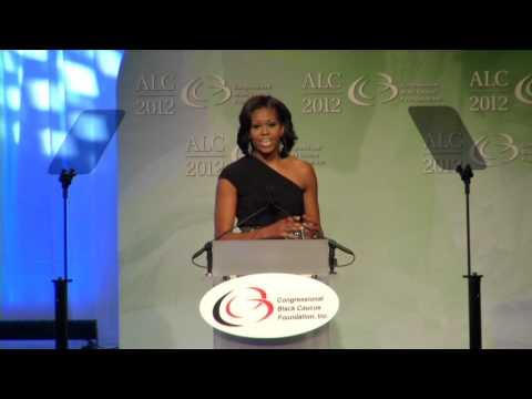 First Lady Michelle Obama Speaks at CBCF's ALC Phoenix Dinner