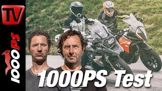1000PS Test - BMW R 1200 GS gegen KTM 1290 Super Adventure S