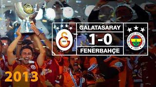 Süper Kupa 2013   Özet: Galatasaray 1--0 Fenerbahçe