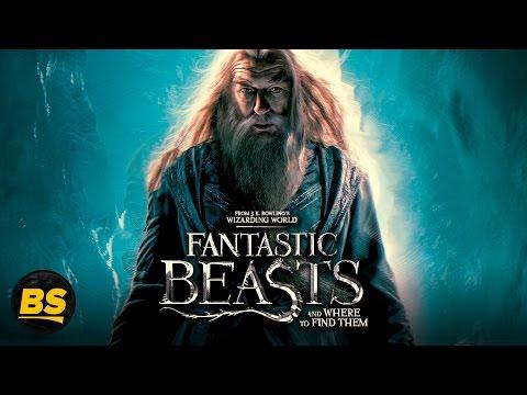 Дамблдор в новой части фильма Фантастические твари и где они обитают