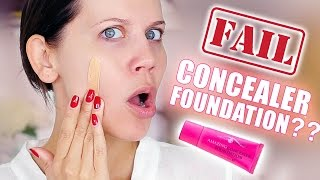 AMAZING CONCEALER FOUNDATION ... FAIL