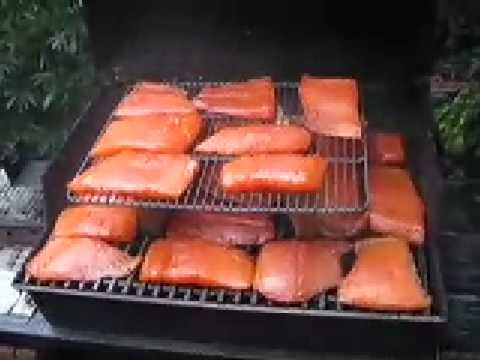 How to Smoke Salmon on a Weber gas grill
