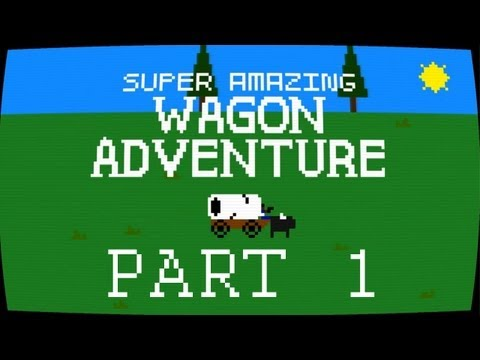 Misc Computer Games - Super Amazing Wagon Adventure