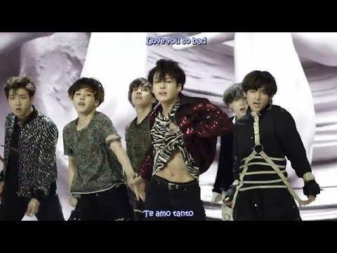 BTS - FAKE LOVE MV ( Español - Hangul - Roma)