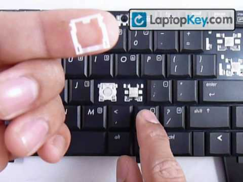 Individual Laptop Keyboard Keys HP Compaq Pavillion Fix Repair Installation Guide