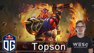 OG.Topson  -VS-  Arteezy  - Ranked Match - OG Dota 2.