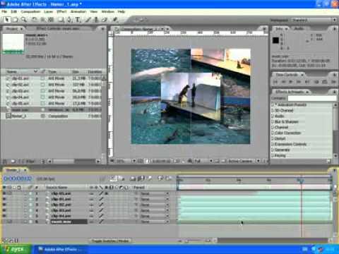 1.8 After Effects Добавление звуковой дорожки | Уроки danilidi.ru