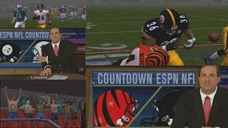 ESPN NFL 2K5 STEELERS FRANCHISE MODE WEEK 3-4 VS DOLPHINS AND BENGALS - EP3