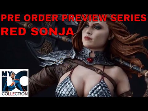Red Sonja Premium Format,Sideshow Collectibles,Pre Order Preview Series