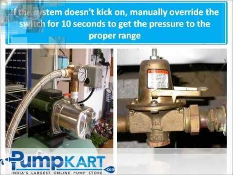 How to Install Pressure Booster Pumps