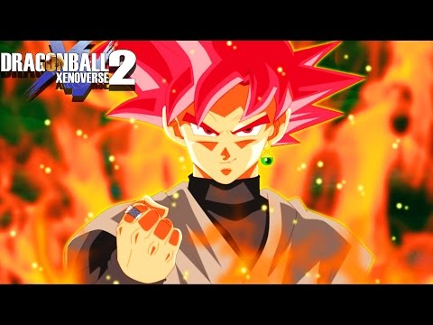 SUPER SAIYAN GOD GOKU BLACK! Ritual God Black Battles SSG Goku | Dragon Ball Xenoverse 2 Mods