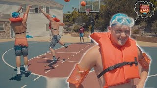 2HYPE 1 V 1 BASKETBALL IN SWIMMING OUTFITS! Jesser vs. Jiedel