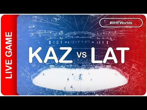 Kazakhstan vs Latvia   Game 41   #IIHFWorlds 2016