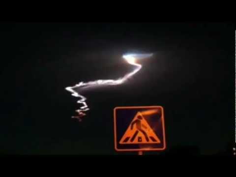 BLACK OPS UFO OVER ISRAEL JUNE 2012 !! RUSSIAN MISSILE TEST ?? !!!