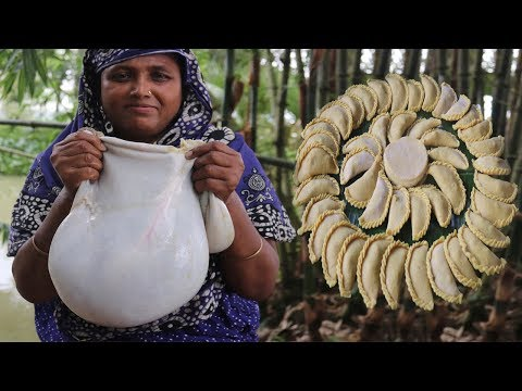 Goat Intestine Recipe Traditional Vuri Puli Pitha Curry Amazing Spicy Intestine Cooking Village Food