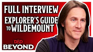 Matt Mercer - Explorer's Guide to Wildemount - Full Interview