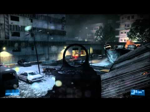 Battlefield 3 1080p Carl Zeiss Cinemizer OLED Headtracking test 1
