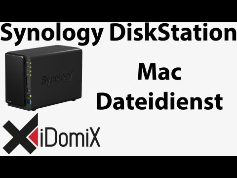 Synology DiskStation Mac Dateidienst einrichten konfigurieren