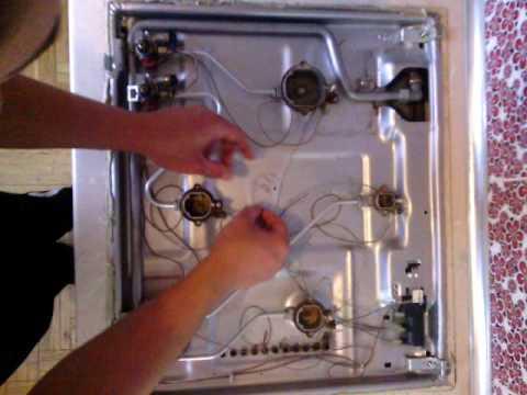 Ремонт газовой варочной панели горенье своими руками 37