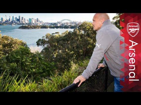 Three days in Sydney with Freddie Ljungberg