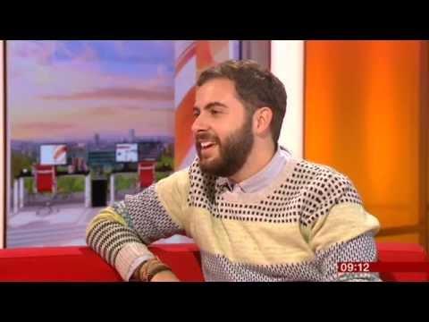 Andrea Faustini X Factor BBC Breakfast 2014