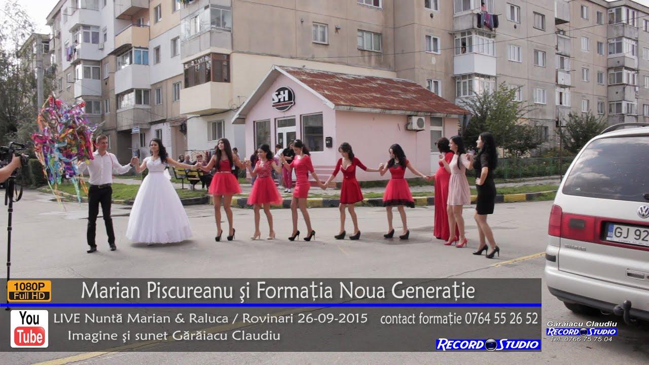 Marian Piscureanu si Noua Generatie Colaj HORA LIVE part.1 Nunta Marian si Raluca 26-09-2015