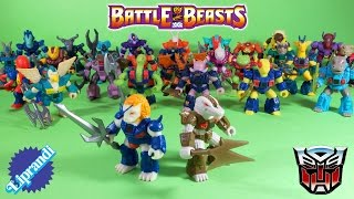 TAKARA/HASBRO - BATTLE BEASTS TRANSFORMERS HEADMASTERS RECENSIONE (ita)