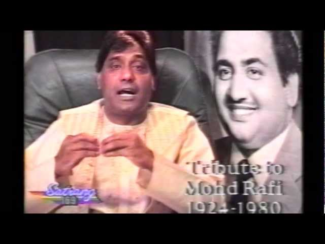 Mohd Rafi life story by Dev Diwana in Satrang tv show UK