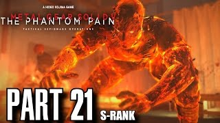 Metal Gear Solid 5 The Phantom Pain Walkthrough Part 21 - Voices S-Rank, All Objectives, No Damage