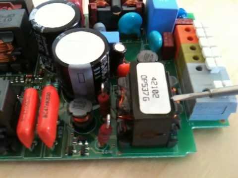 Disassembly of the HID ballast