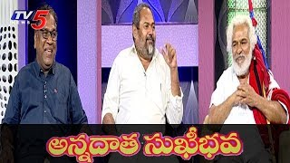 'Annadata Sukhibhava' Movie Team Interview | R. Narayana Murthy | Gaddhar | Goreti Venkanna | TV5