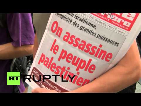 France: Pro-Palestine protesters defy ban with rally in Lyon